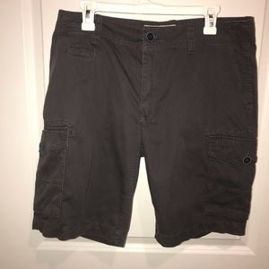 Arizona gray cargo shorts never worn